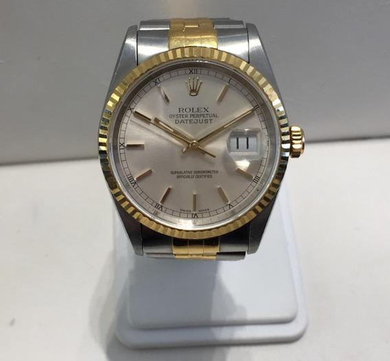 Reloj Caballero Rolex Modelo Datejust Tamaño 36mm Calibre 3
