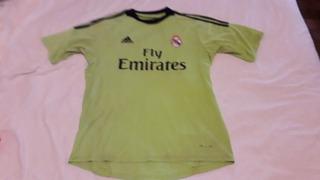 Camiseta Arquero C A Real Madrid 2013 M C# 1 Tarasiuk Orig L