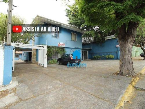 So0161 - Sobrado Para Alugar, 420 M² Por R$ 12.000/mês - Pacaembu - São Paulo/sp - So0161