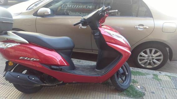 Honda Elite 125 Cc 2015 Exe Todos Los Service Oficial Oferta