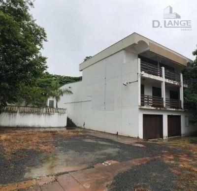 Casa Comercial Para Locação, Jardim Flamboyant, Campinas. - Ca11767