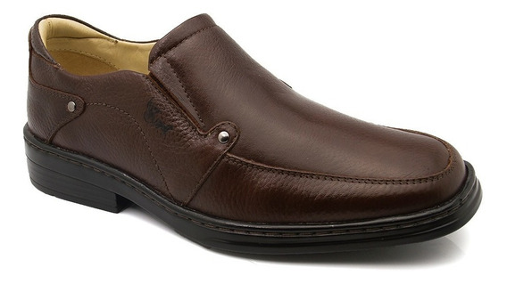 Sapato Masculino Magnético 910 Floater Café Doctor Shoes