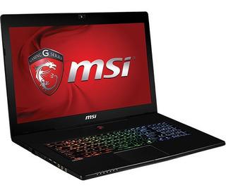 Laptop Gamer Msi 17 Pulg Teclado Rgb I7 16gb Sdd Hdd Nvidia