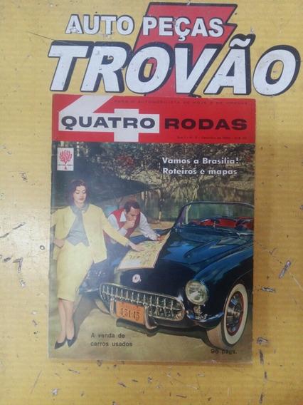 Revista Quatro Rodas Ano 1 N° 2 Setembro De 1960