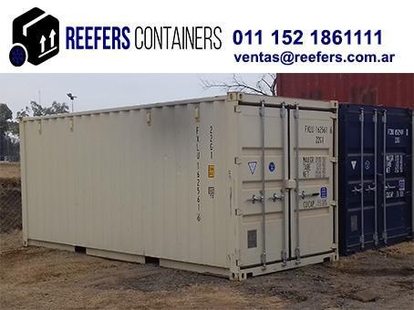 Contenedores Marítimos Containers Usado 20 Pies Rio Iii