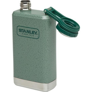 Petaca Clasica Stanley 236 Ml Flasck Licor Camping Verde