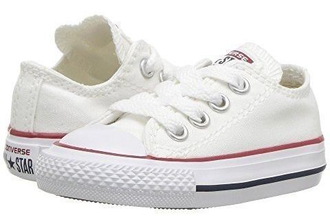Converse Kids Chuck Taylor Core Ox Whit Tenis Bebe Niña Niño
