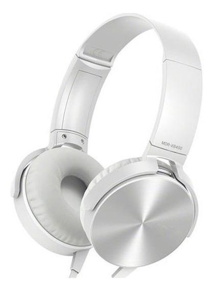 Fone Branco Ouvido Ec-201 Headphone Extra Bass