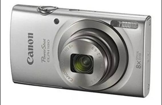 Câmera Fotográfica Canon Com Cartão De Memória