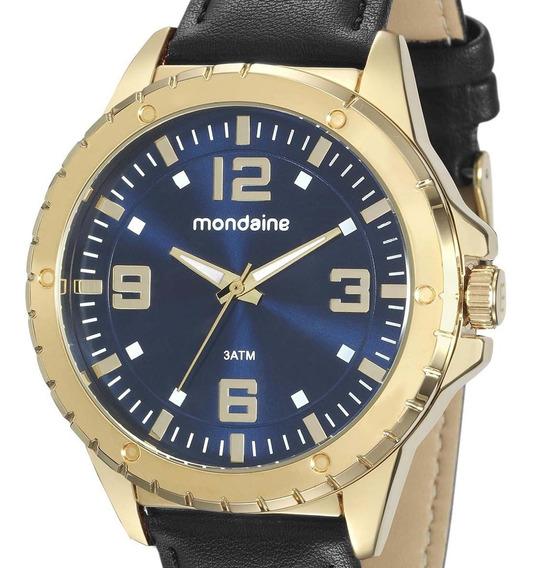 Relógio Masculino Mondaine 76675gpmvdh2 Analógico + Nfe