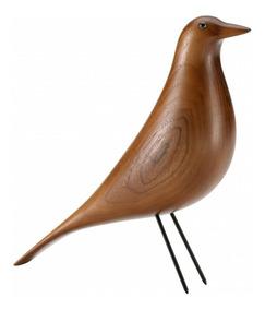Pássaro Eames House Bird Walnut - Design - Arte - Decoração