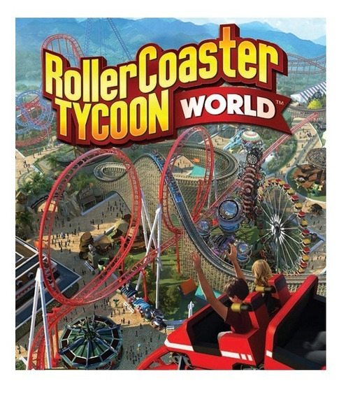 Rollercoaster Tycoon World-pc-dvd(midia Fisica)