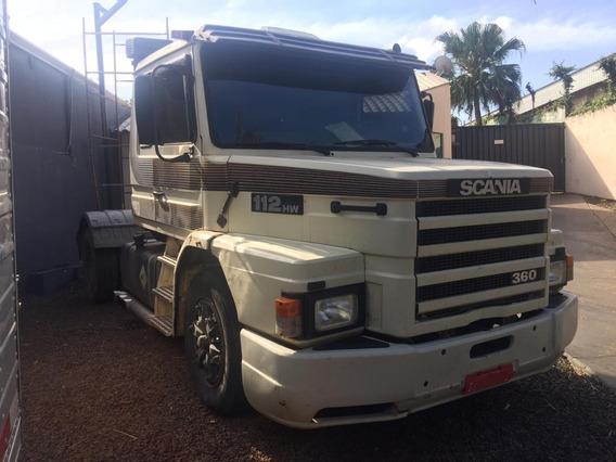 Cavalo Scania 4x2 112 Hw Turbo