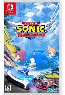 Team Sonic Racing Switch - Juego Fisico - Haishame