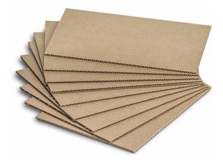 1 Lamina De Carton Corrugado Para Empaque De 90x120cms 7k