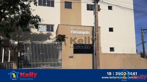 Ótimo Apartamento No Edifício Florianópolis Em Presidente Prudente. - 1368
