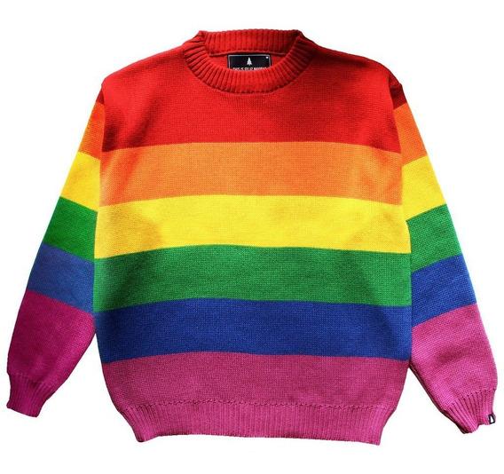 Sweater Arcoiris Hombre Y Mujer This Is Feliz Navidad