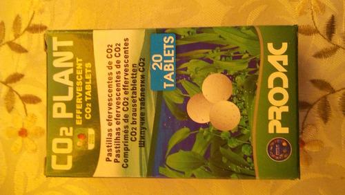 Prodac Co2 Plant 20 Tabletas Acuario Plantado Plantas