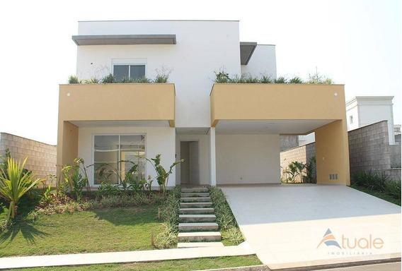 Casa Com 4 Dormitórios À Venda Ou Locação, 276 M² Por R$ 1.230.000 - Jardim Green Park Residence - Hortolândia/sp - Ca5891