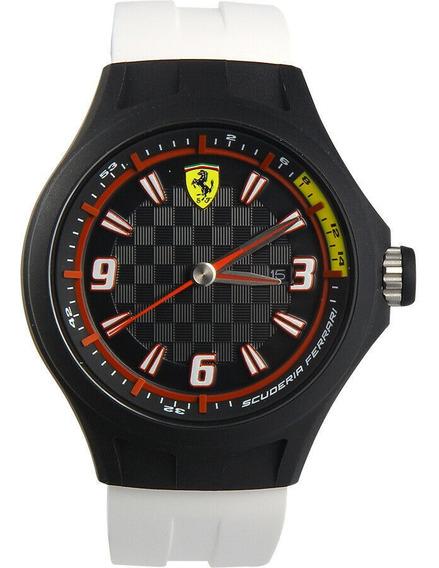 Reloj Ferrari Pit Crew Black Silicone Strap 830004