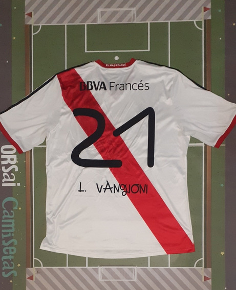 Camiseta River Plate #21 Vangioni Nros Tipología Ana Vives