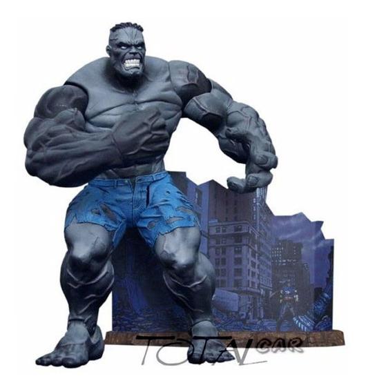 Hulk Ultimate Cinza Marvel Diamond Select Toys