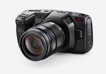 Câmera Blackmagic Pocket Cinema Câmera 4k
