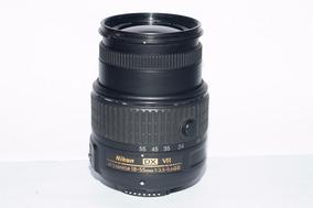 Lente Nikon 18-55 Mm Usada