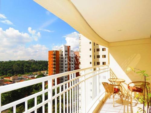 Imagem 1 de 14 de Apartamento Alto Padrão 111m² 3 Suites Vista Maia 2 Vaga