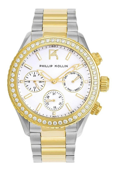 Relógio Feminino Phillip Kollin Zy28145s Barato Original