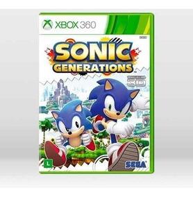 Sonic Generations Xbox 360 Física Novo Original Frete Grátis