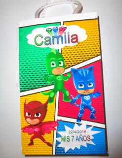 Bolsa Personalizadas De Papel Con Manija De Cordones Pack 10