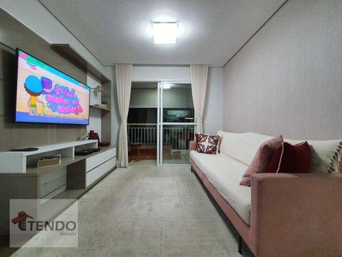 Imagem 1 de 30 de Imob01 - Apartamento 80 M² - Venda - 3 Dormitórios - 1 Suíte - Centro - São Bernardo Do Campo/sp - Ap2869