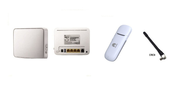Modem 3g Ant Libre + Router Wifi Hg532s Reacond Chip Dvr