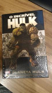 Planeta Hulk Panini Capa Dura Edição De Luxo Hq