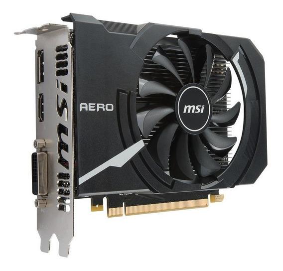 Placa De Video Msi Geforce Gtx 1050 Ti Aero Itx 4gb Oc