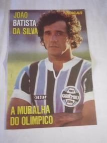 Pôster Placar - João Batista Da Silva / Grêmio