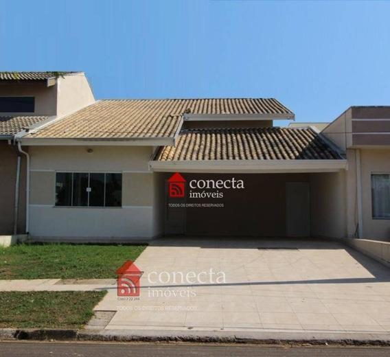 Casa Residencial À Venda, Condomínio Campos Do Conde I, Paulínia - Ca0908. - Ca0908