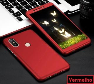 Capa Case Frente Verso 360 Xiaomi Mi 8 Mi8 Película Vidro