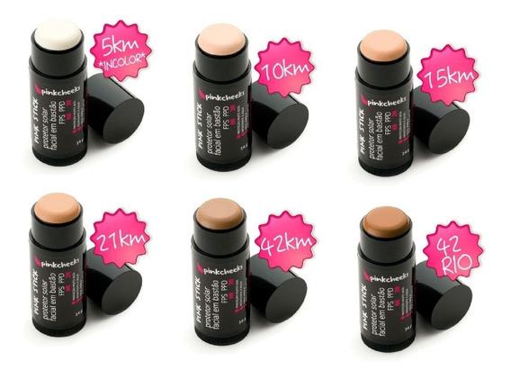 Protetor Solar Facial Bastão Pinkcheeks Pink Stick Fps 90 Fpuva 70