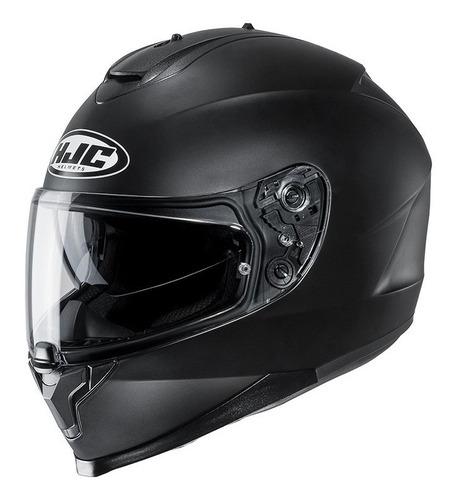 Casco Moto Hjc C70 Negro Mate Lentes Incluidos