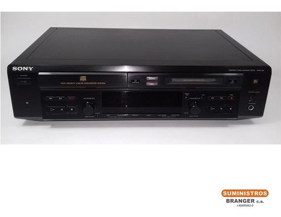 Reproductor Cd / Grabador Minidisc Marca Sony Mod Mxd-d3