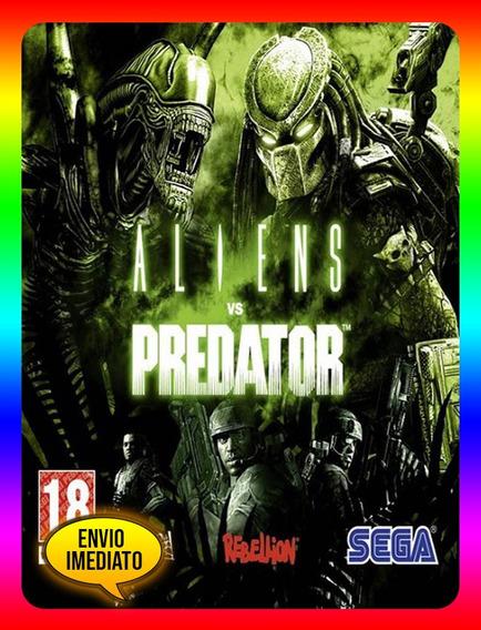Alien Vs Predator Collection Pc - Steam Key (envio Já)