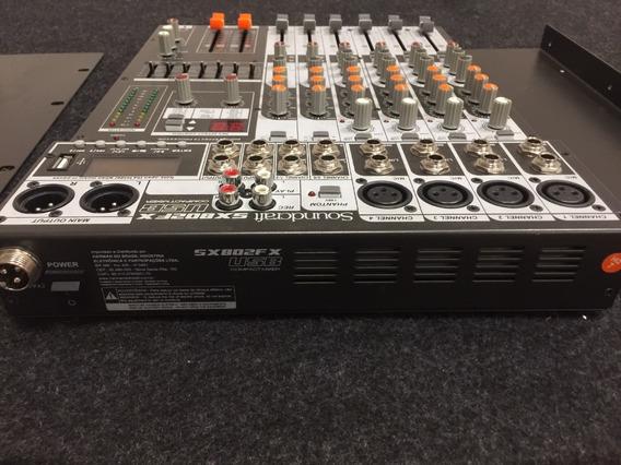 Mesa De Som Soundcraft Sx802fx
