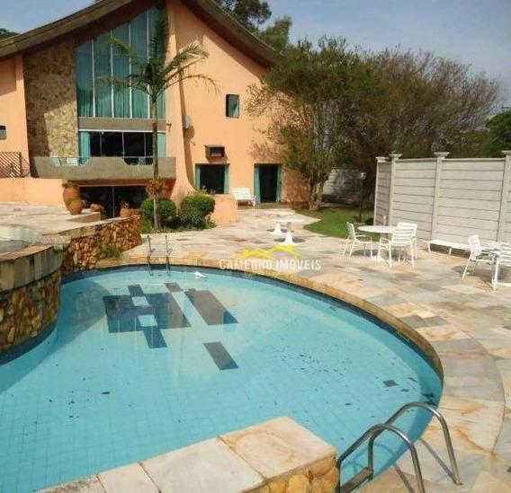 Condomínio Fechado, Casa Com 3 Dormitórios Para Alugar, 600 M² Por R$ 6.000,00/mês - Jardim Santa Rita De Cássia - Santa Bárbara D