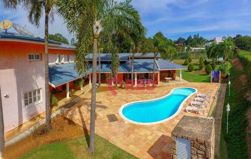 Imagem 1 de 30 de Belíssima Casa No Condomínio Fazenda Vila Real - Ca0513