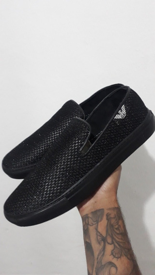Armani Brilhante Slip On Loafer