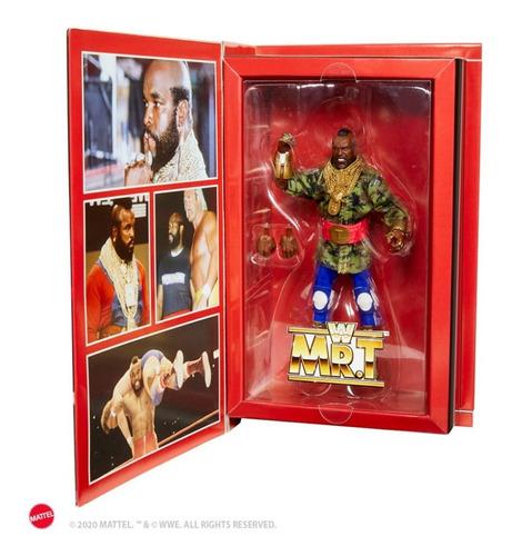 Imagen 1 de 4 de Wwe Élite Collection Mr T Mattel