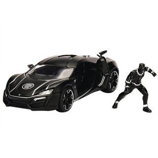 Miniaturas De Carros Metal Lykan Hypersport E Pantera Negra