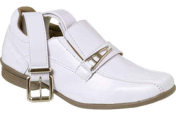 Sapato Social Com Cinto Infantil Menino Redmax A/b927-001
